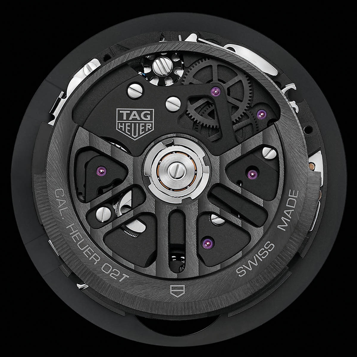 La Cote des Montres : Photo - TAG Heuer Carrera Heuer-02<i>T</i> Tourbillon