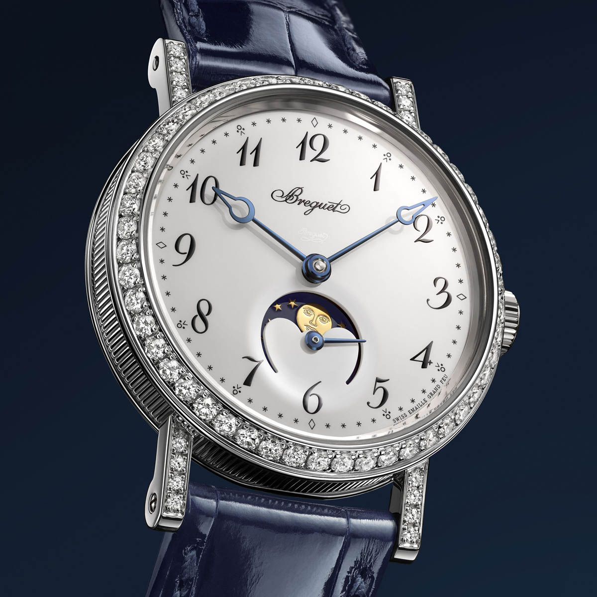 The Watch Quote: Photo - Breguet Classique Phase de Lune Dame 9088