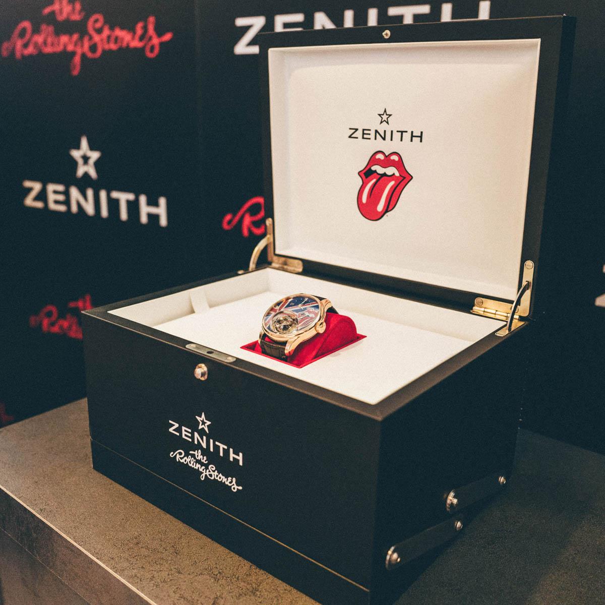 La Cote des Montres : Photo - Zenith Academy Christophe Colomb tribute to The Rolling Stones