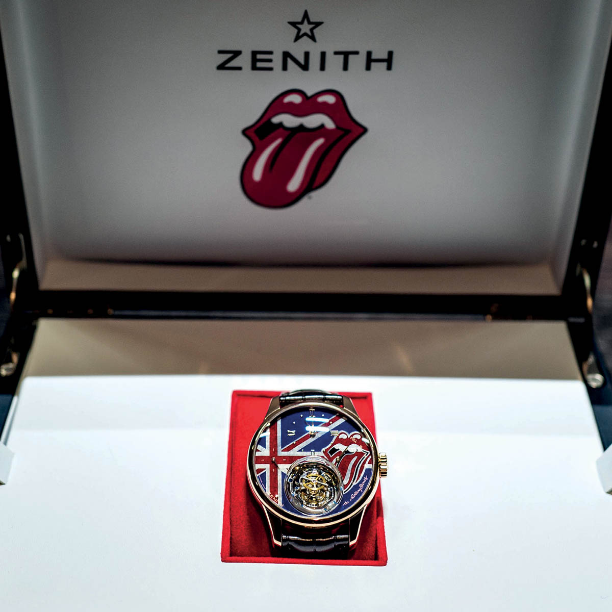 La Cote des Montres : Photo - Zenith Academy Christophe Colomb tribute to The Rolling Stones