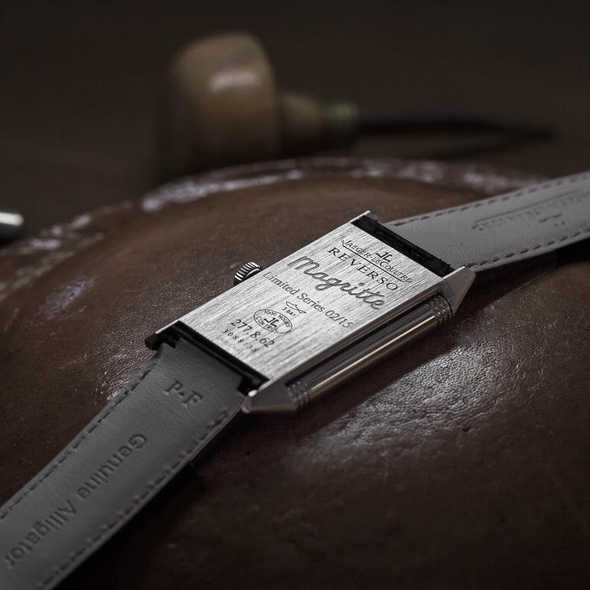La Cote des Montres : Photo - Jaeger-LeCoultre Reverso Hommage à René Magritte