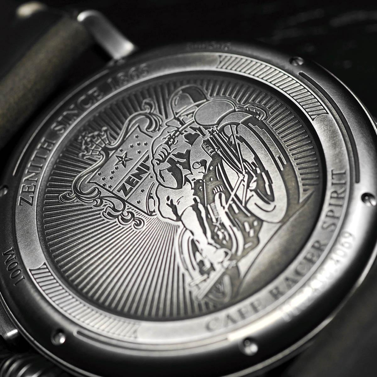 La Cote des Montres : Photo - Zenith Heritage Pilot Ton-Up Edition