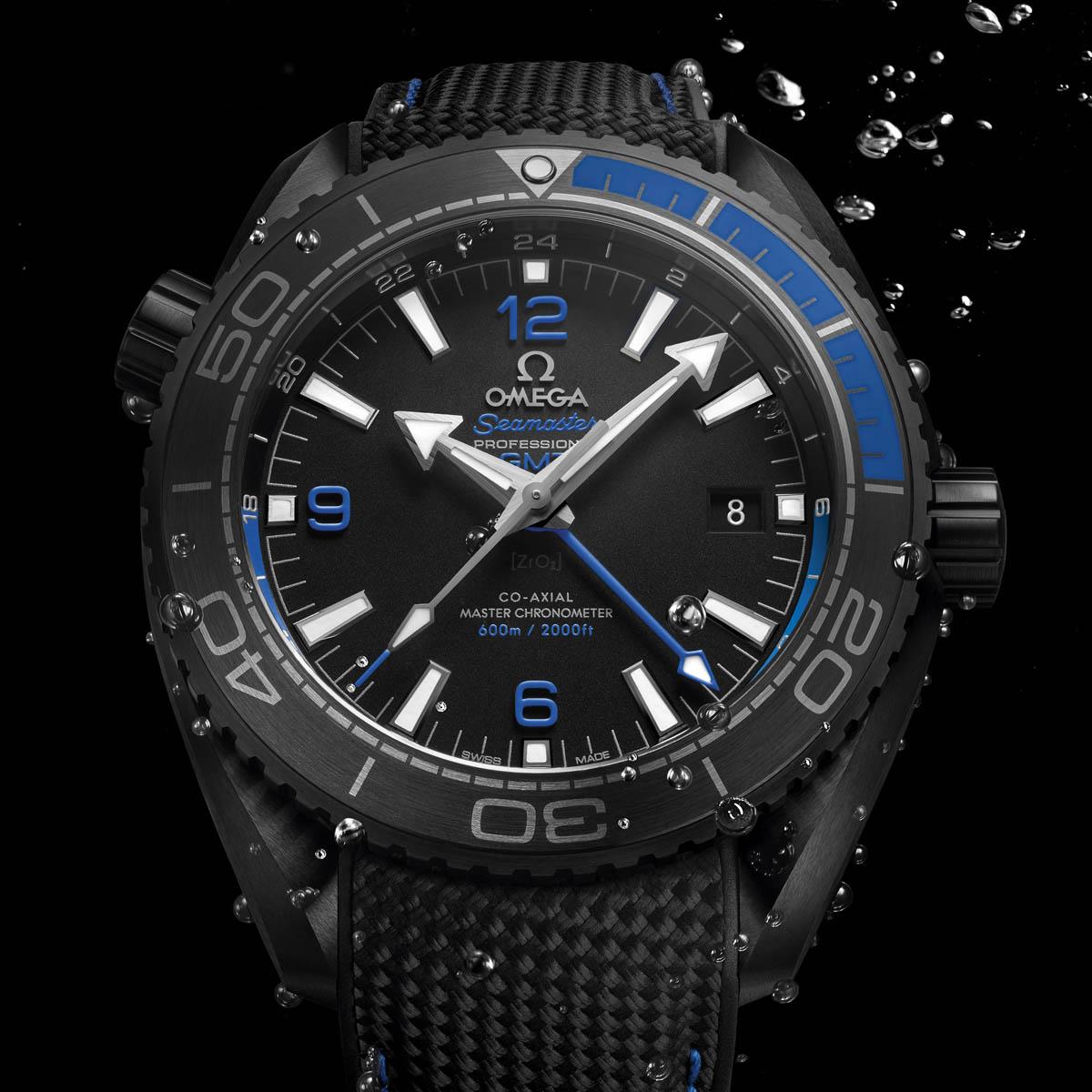 La Cote des Montres : Photo - Omega Seamster Ocean « Deep Black »