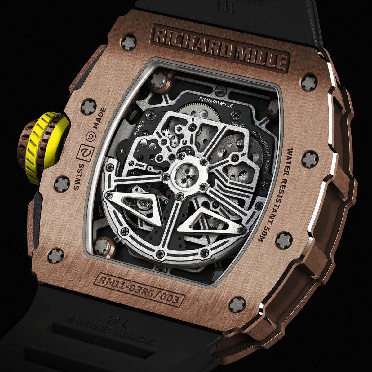 The Watch Quote: Photo - Richard Mille RM 11-03 Automatic Flyback Chronograph