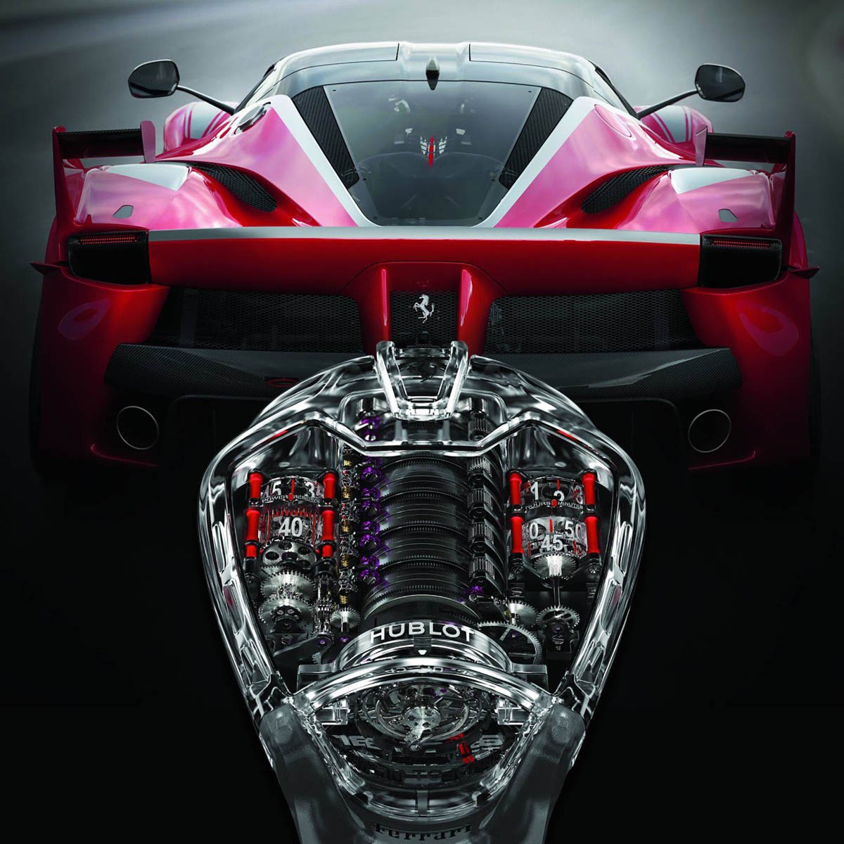 "The Watch Quote: Photo - Hublot MP-05 ""LaFerrari� Sapphire"