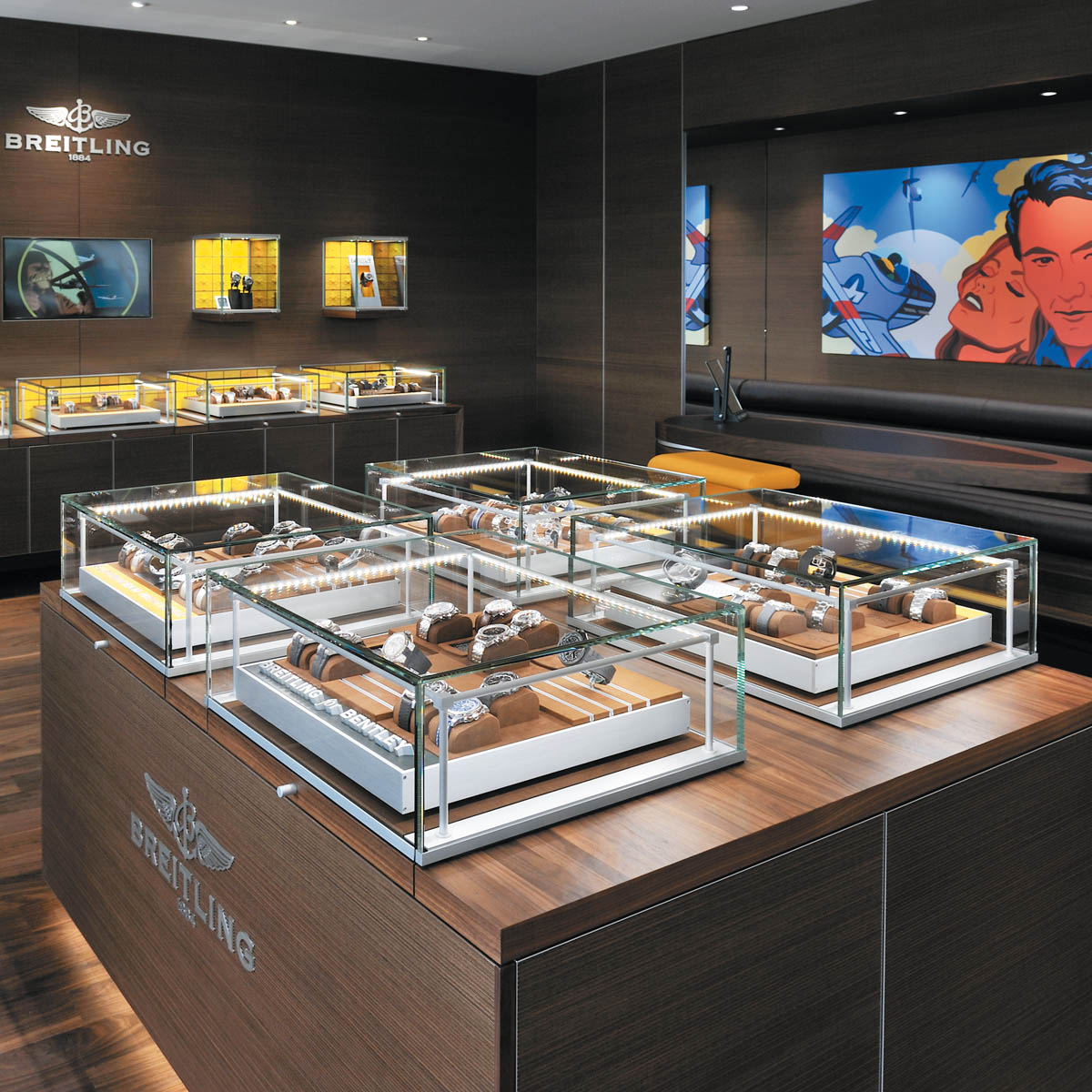 The Watch Quote: Photo - Breitling celebrates the opening of its Geneva boutique