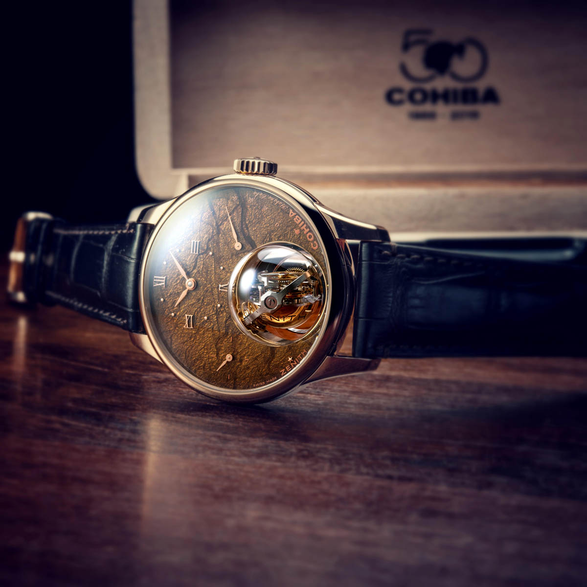The Watch Quote: Photo - Zenith Academy Christophe Colomb Tribute To Cohiba