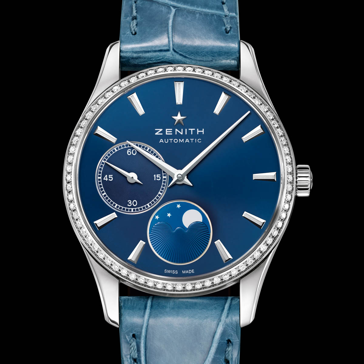 The Watch Quote: Photo - Five shades of blue for Zenith