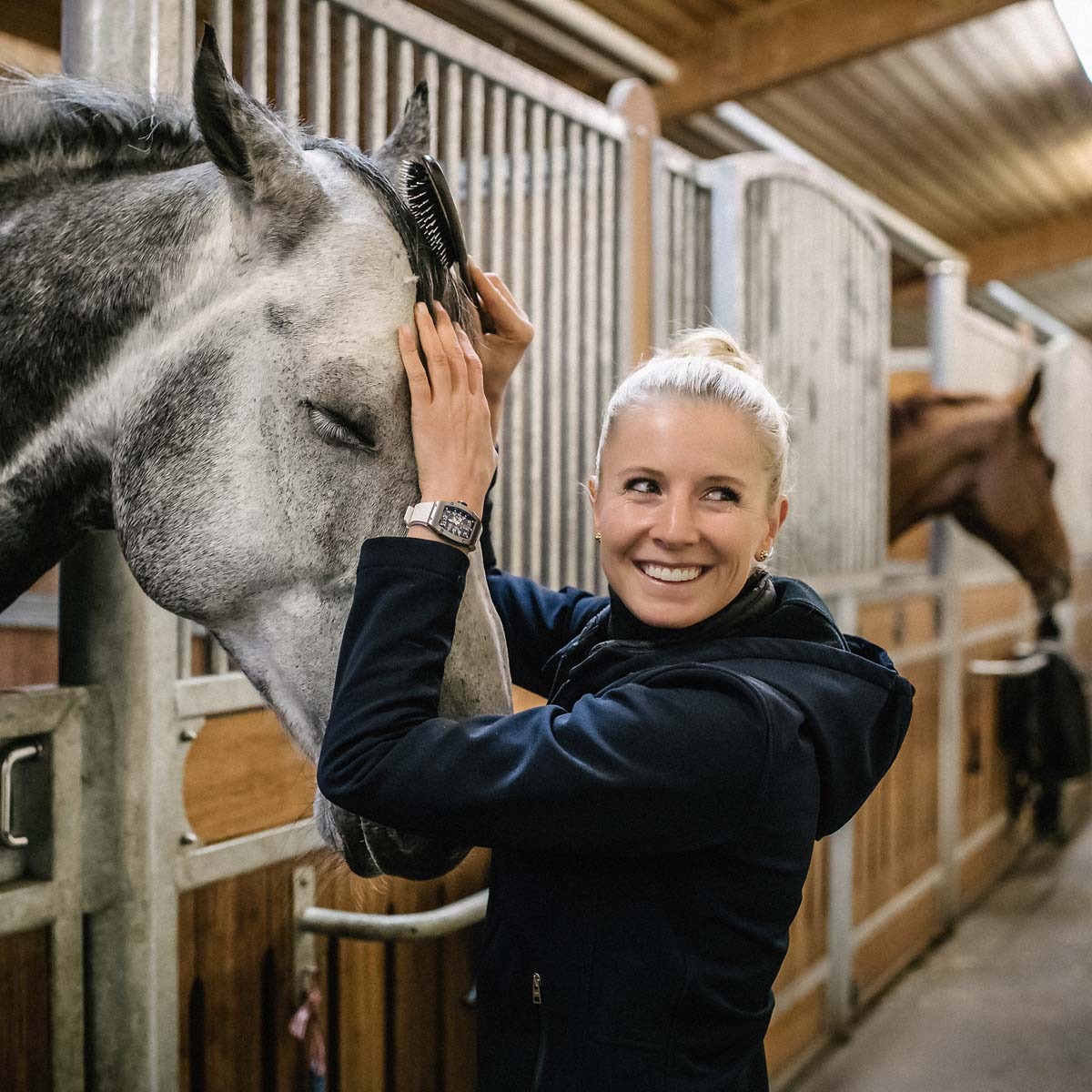 The Watch Quote: Photo - A new Richard Mille partner: German equestrian athlete  Jessica von Bredow-Werndl