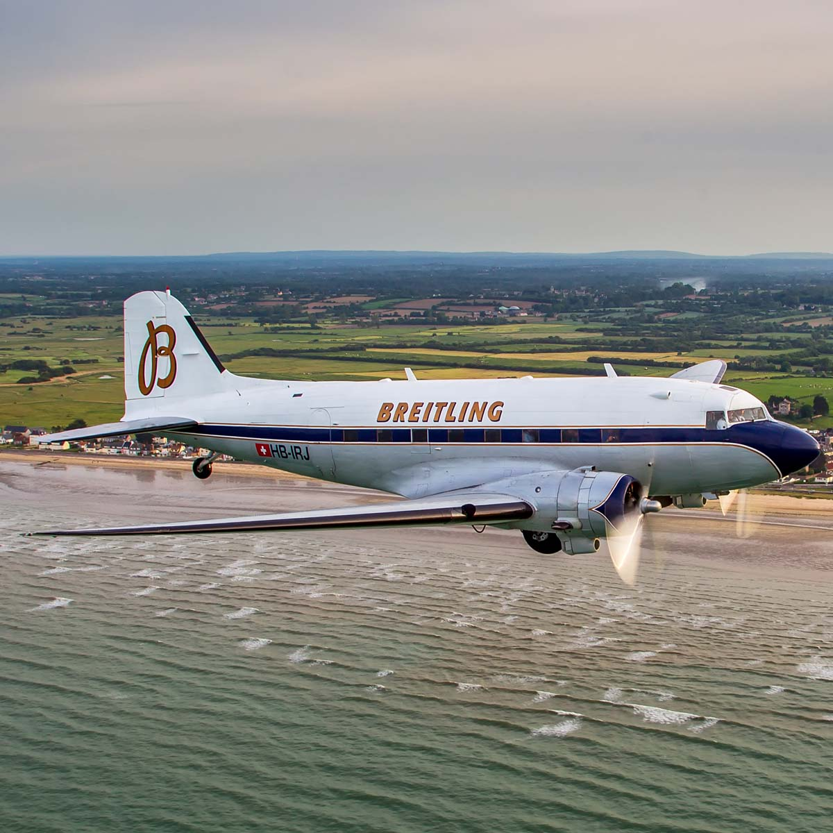 The Watch Quote: Photo - The Breitling DC-3 circles the globe