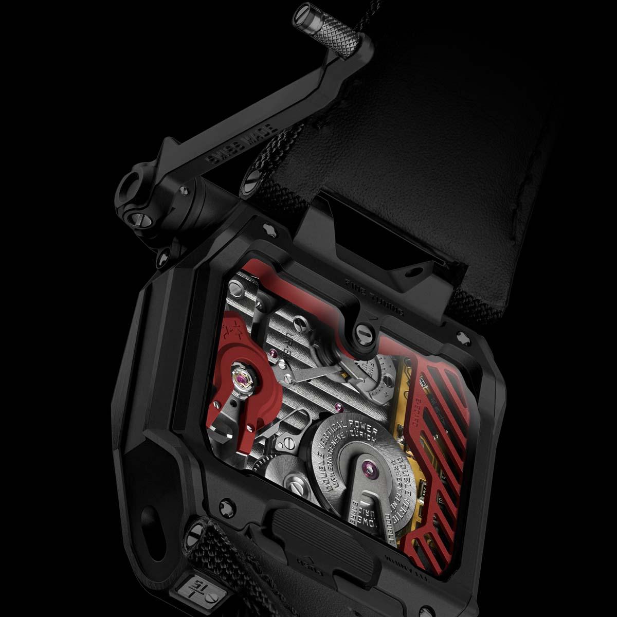 La Cote des Montres : Photo - Urwerk TimeHunter «X-Ray»