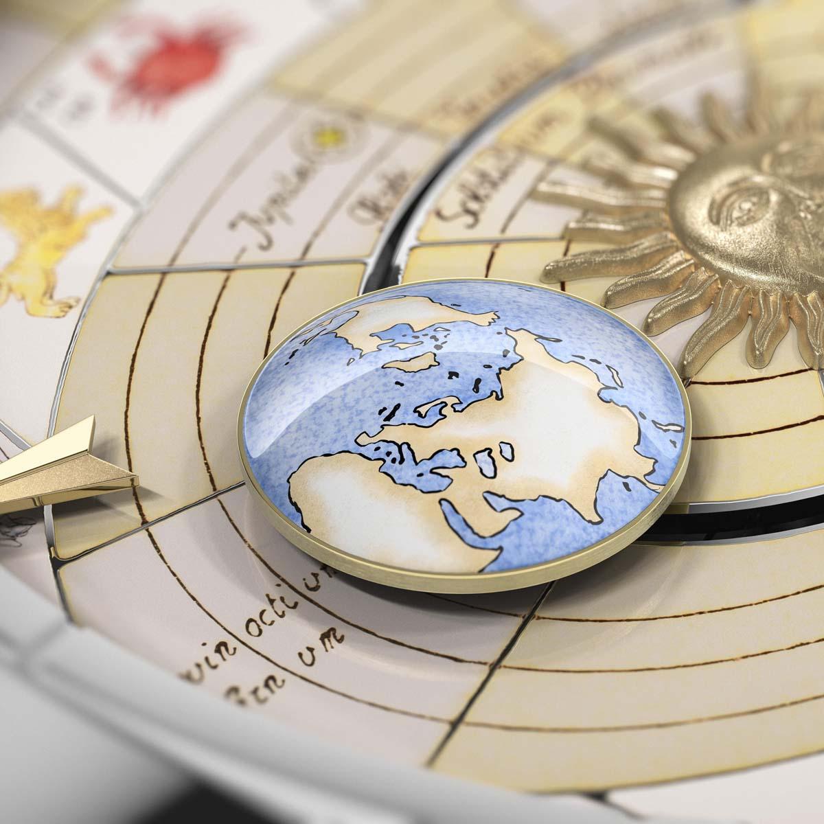 The Watch Quote: Photo - Vacheron Constantin Métiers d'Art Copernicus celestial spheres