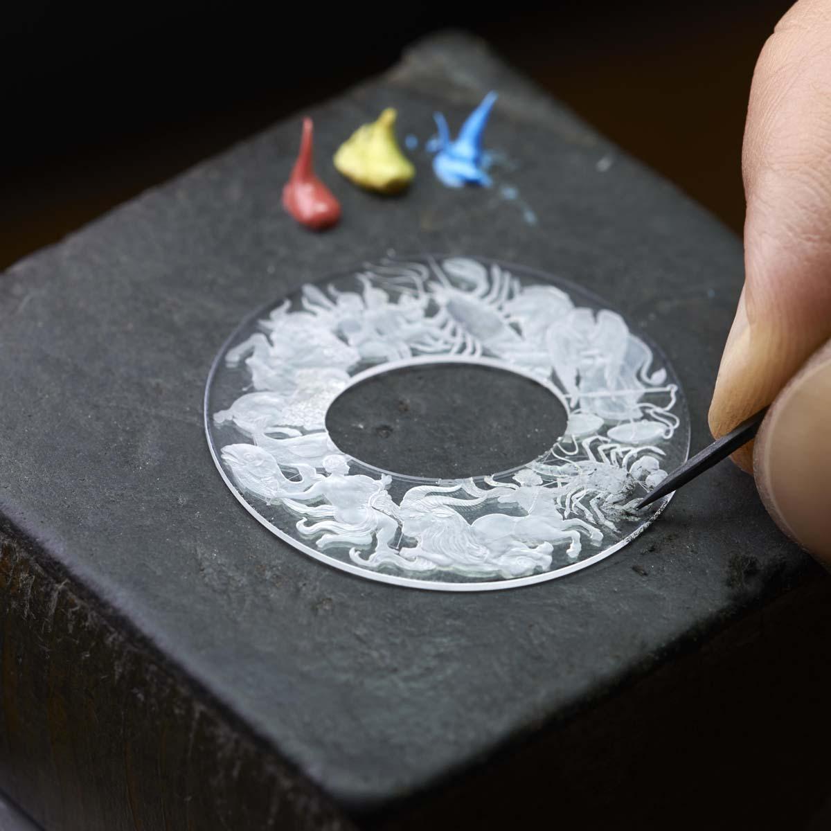 La Cote des Montres : Photo - Vacheron Constantin Métiers d'Art Copernic sphères célestes
