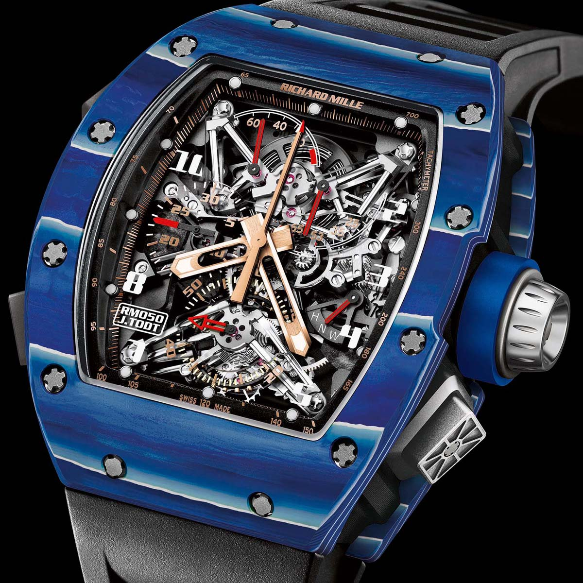 La Cote des Montres : Photo - Richard Mille Collection Jean Todt 50th Anniversary