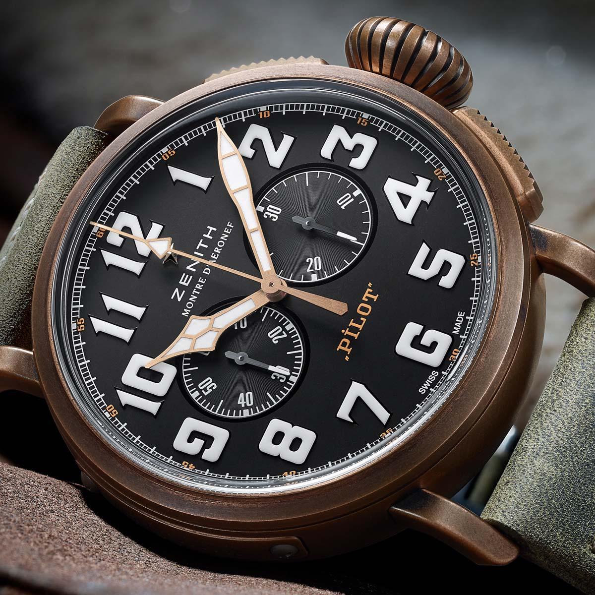 The Watch Quote: Photo - Zenith Pilot Extra Special Chronograph