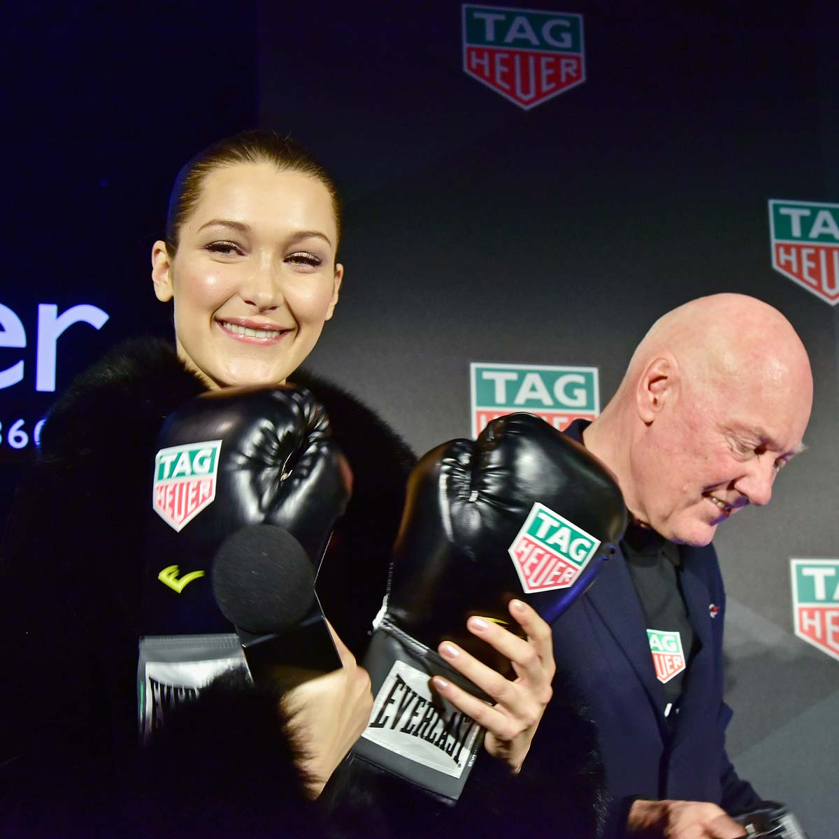 The Watch Quote: Photo - Bella Hadid chooses TAG Heuer!