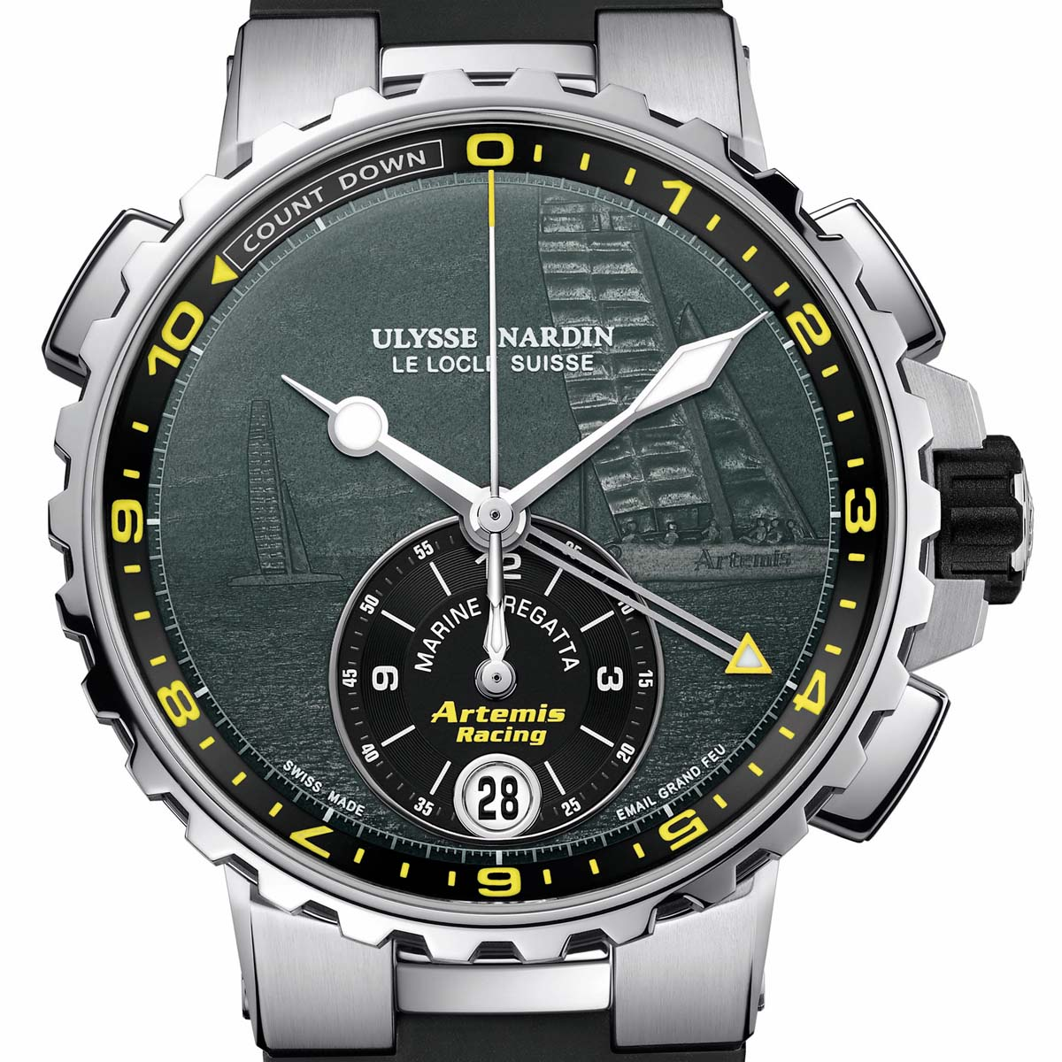 The Watch Quote: Photo - Ulysse Nardin Marine Regatta