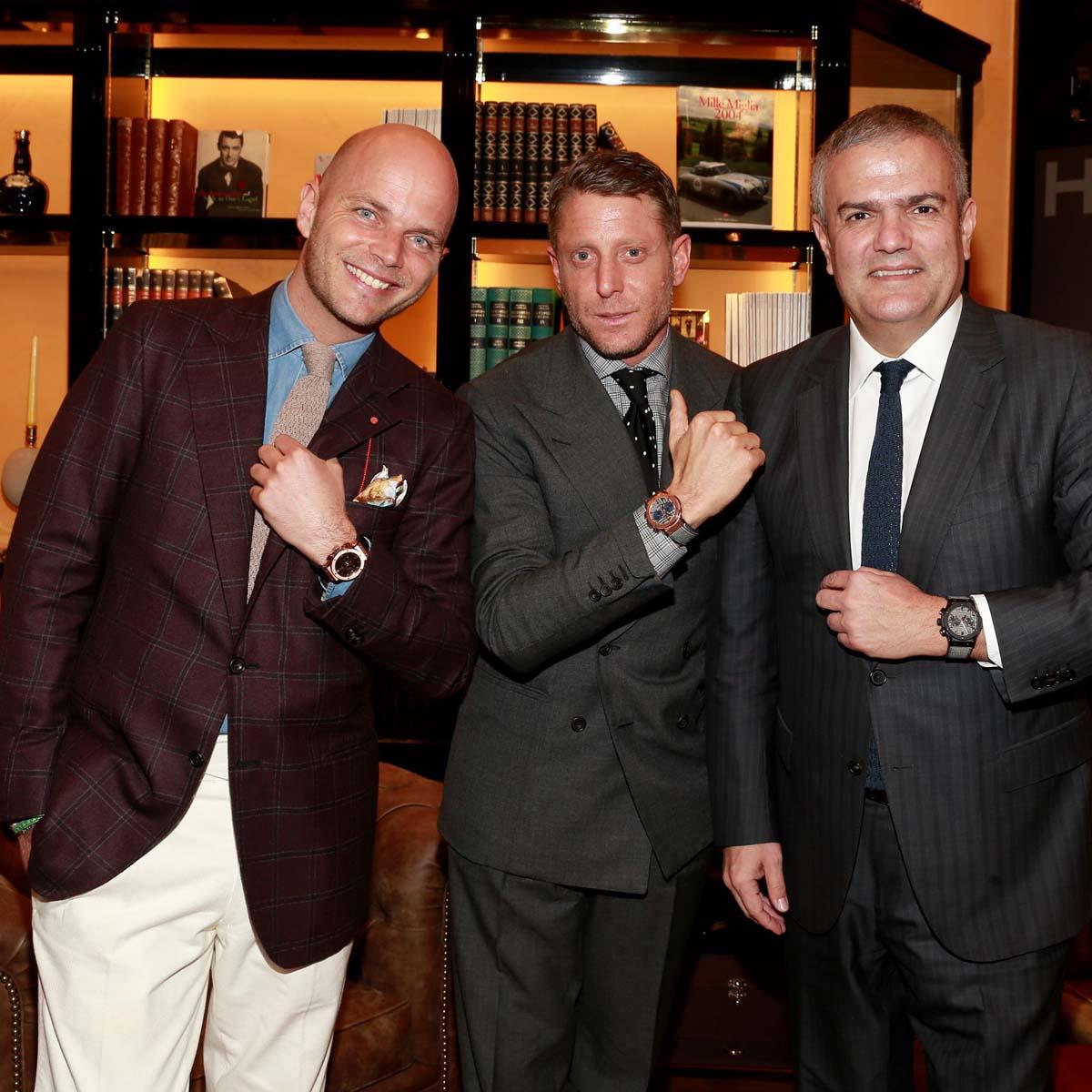 La Cote des Montres : Photo - Hublot présente la collection Classic Fusion Italia Independent