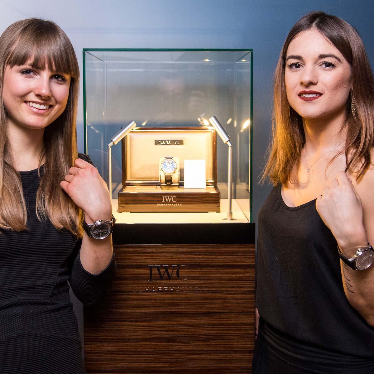 La Cote des Montres : Photo - IWC Da Vinci Chronographe Edition « Laureus Sport for Good Foundation »