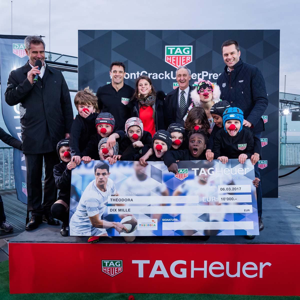 The Watch Quote: Photo - Dan Carter, the famous rugby player, joins the TAG Heuer family