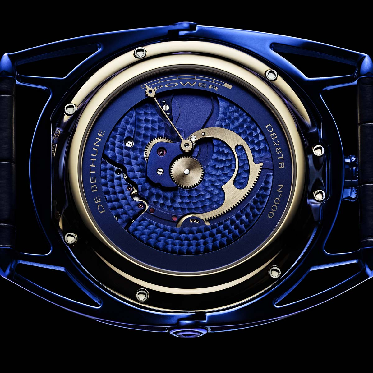 The Watch Quote: Photo - De Bethune DB28 Kind of Blue Tourbillon Meteorite