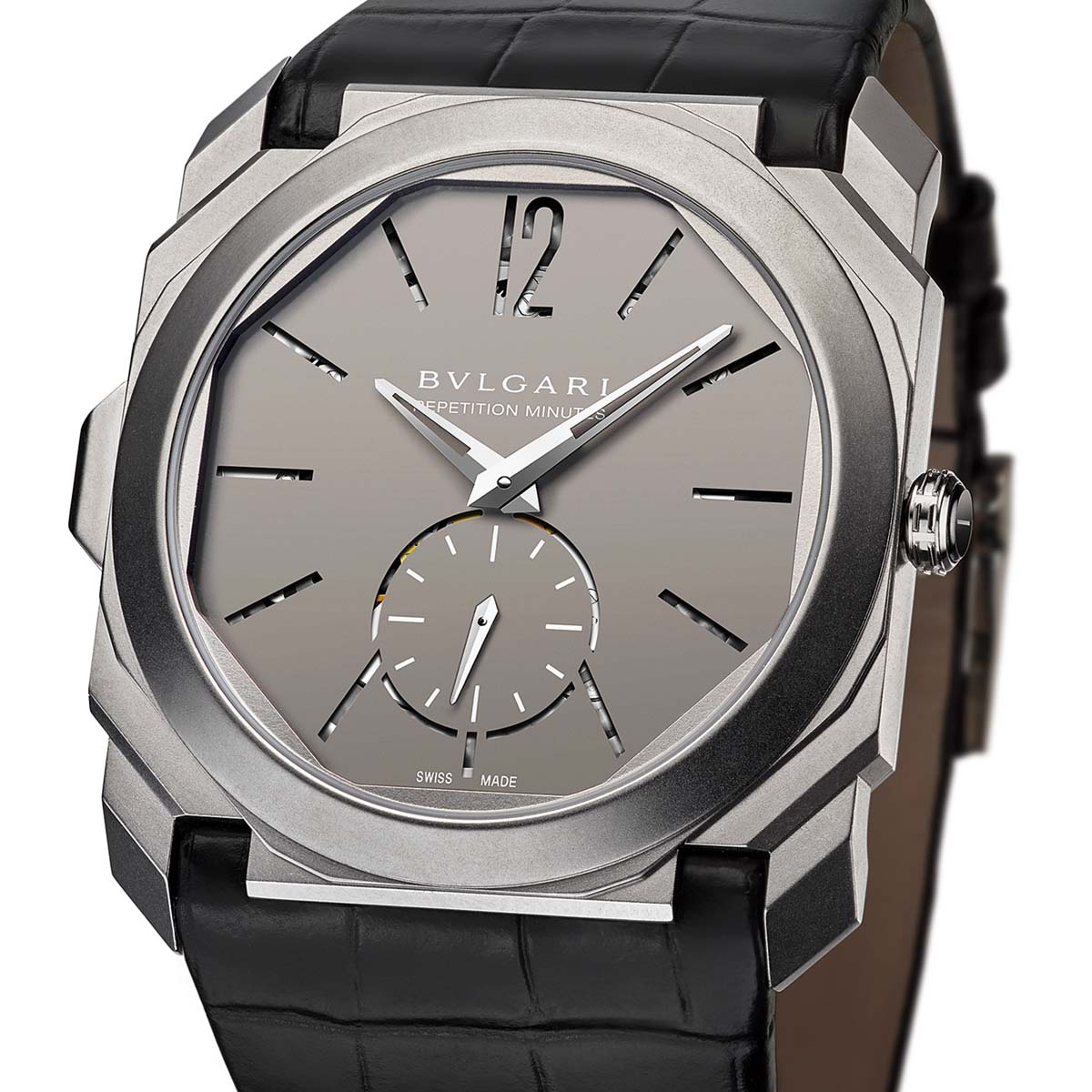 The Watch Quote: Photo - Bulgari Octo Finissimo Minute Repeater