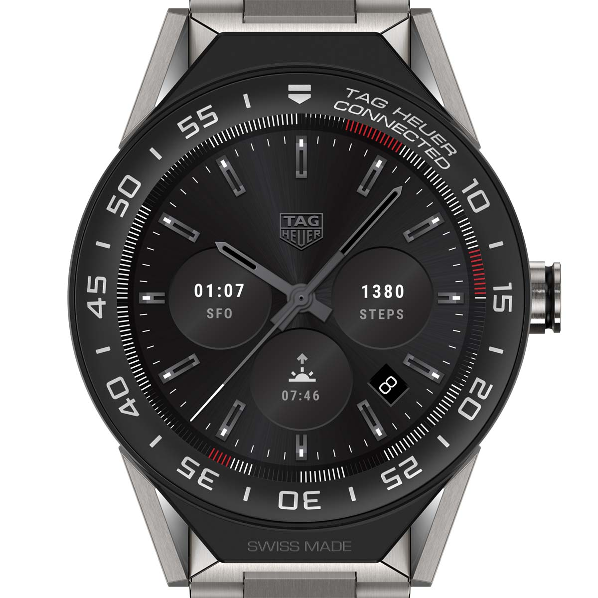 La Cote des Montres : Photo - TAG Heuer Connected Modular 45
