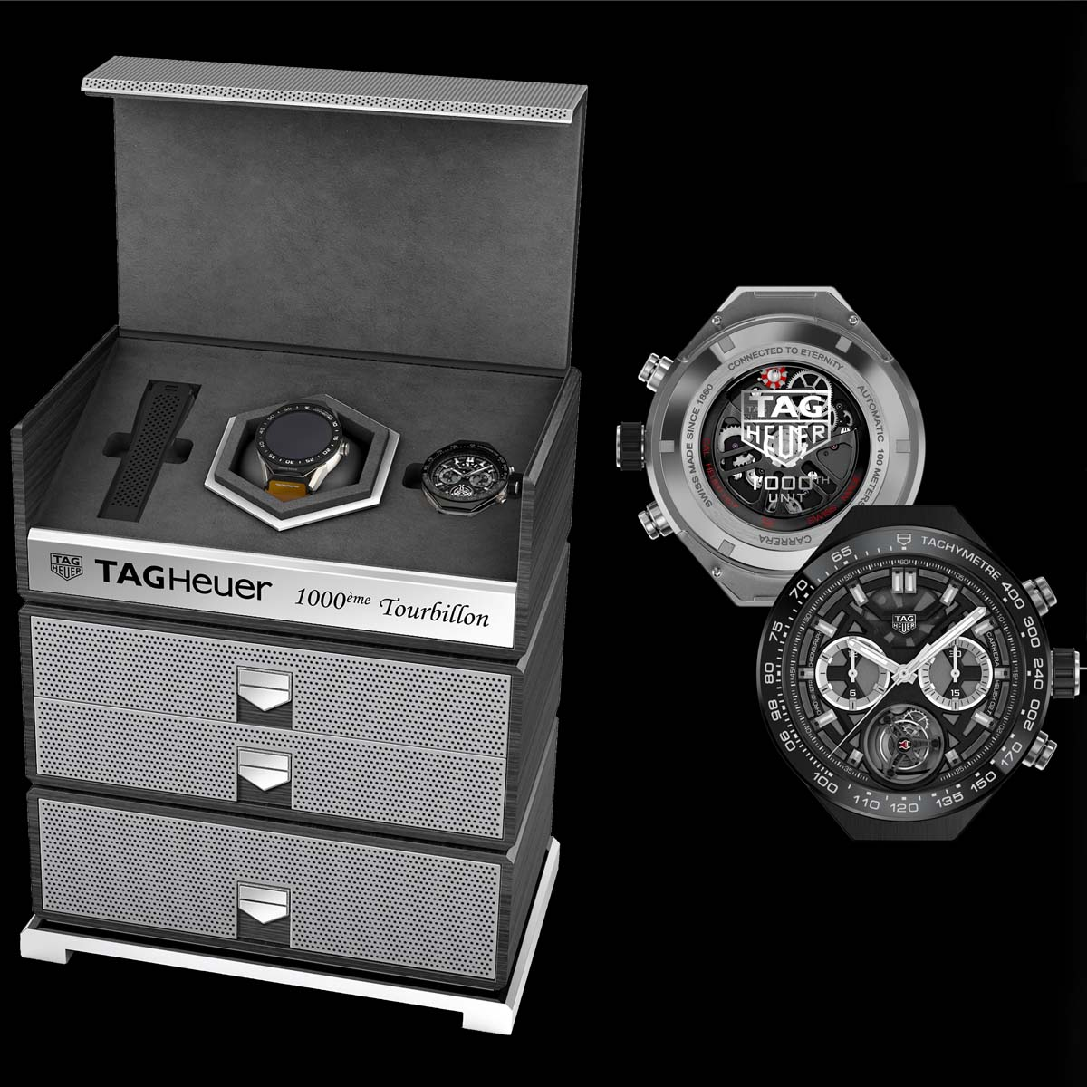 The Watch Quote: Photo - TAG Heuer announces the arrival of the thousandthCOSC certified Tourbillon movement