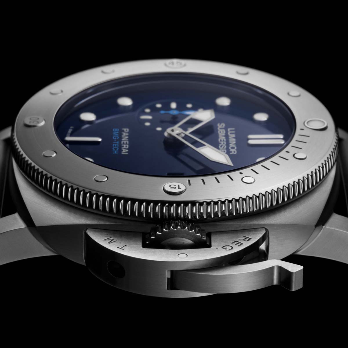 La Cote des Montres : Photo - Panerai Luminor Submersible 1950 BMG-Tech™ 3 Days Automatic – 47mm