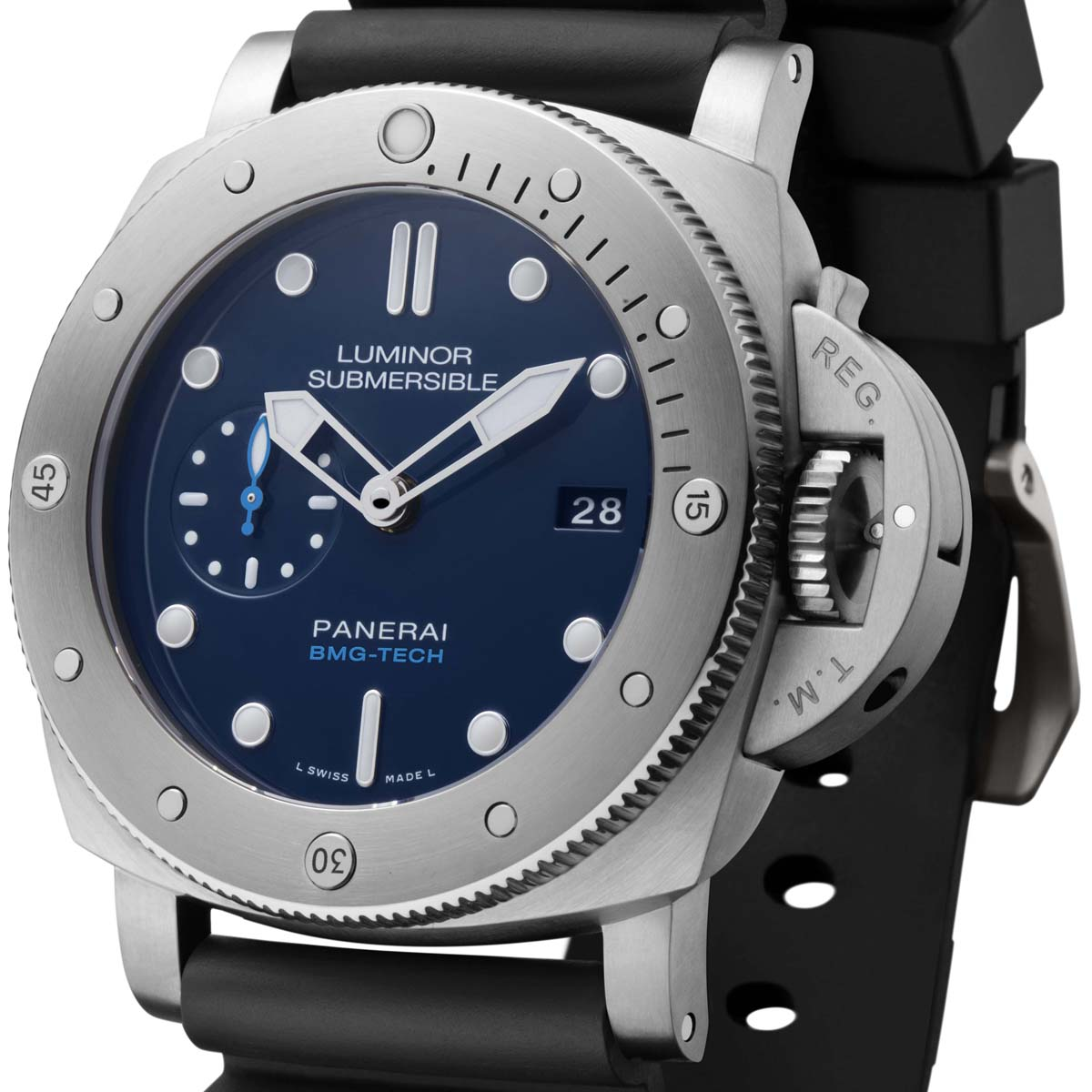 The Watch Quote: Photo - Panerai Luminor Submersible 1950 BMG-TECH™ 3 Days Automatic – 47mm
