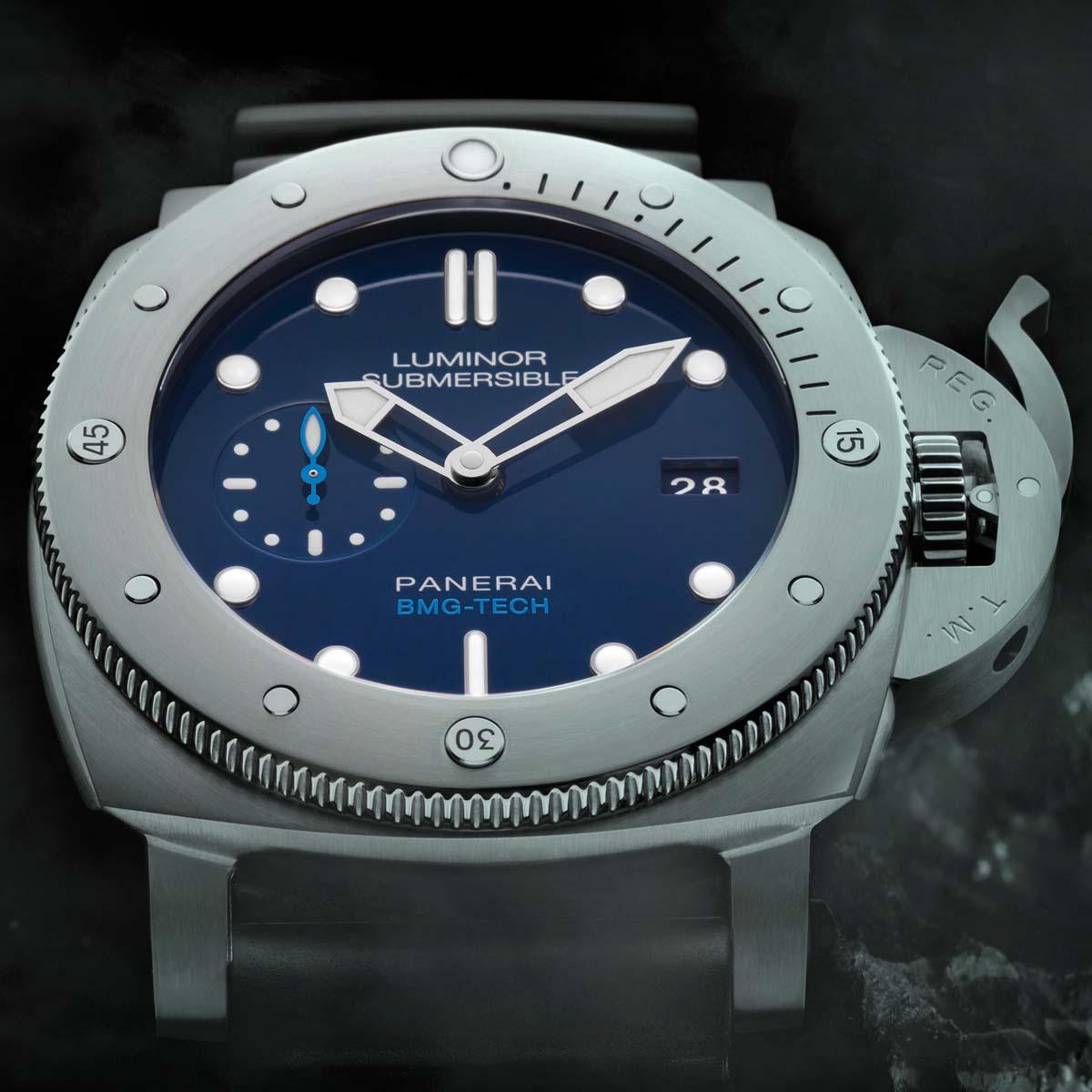 La Cote des Montres : Photo - Panerai Luminor Submersible 1950 BMG-Tech™ 3 Days Automatic – 47mm