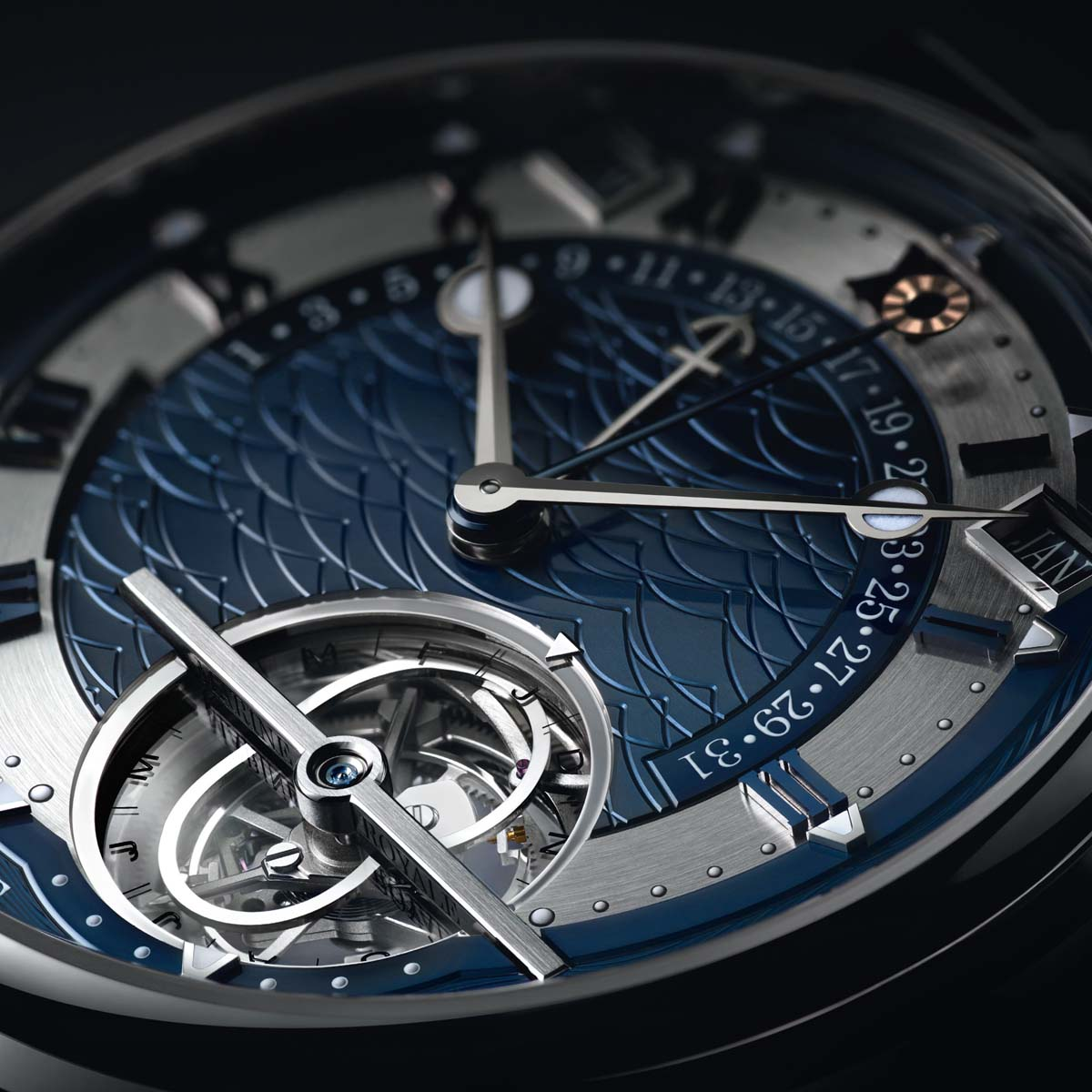 The Watch Quote: Photo - Breguet Marine Équation Marchante 5887