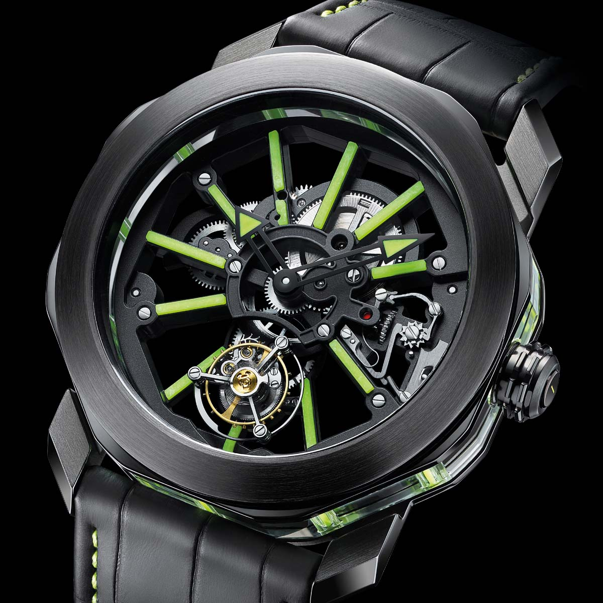 The Watch Quote: Photo - Bulgari Octo Tourbillon Sapphire