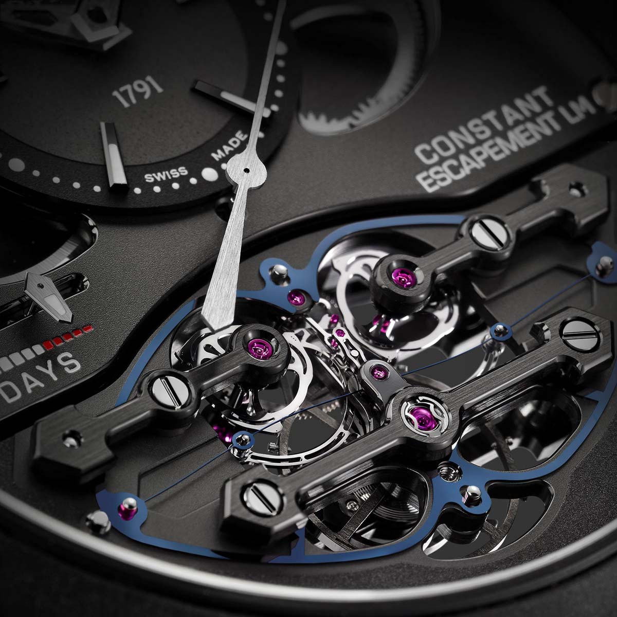 The Watch Quote: Photo - Girard-Perregaux Echappement Constant L.M