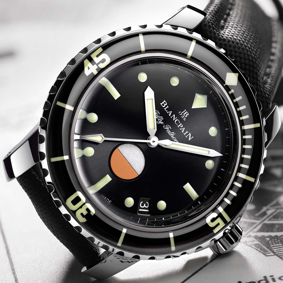 The Watch Quote: Photo - Blancpain Tribute to Fifty Fathoms MIL-SPEC