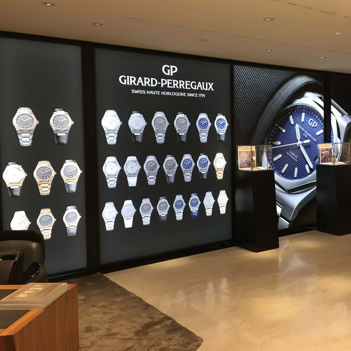 The Watch Quote: Photo - Girard-Perregaux Laureato collection launch in Zurich