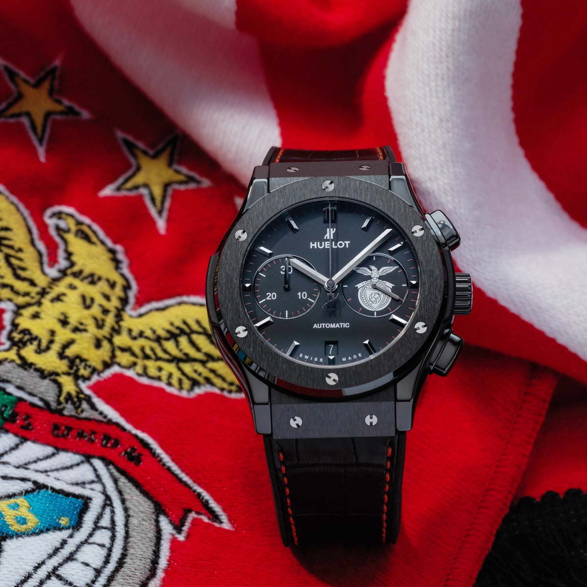 The Watch Quote: Photo - The Benfica eagles are joining Hublot's football squad