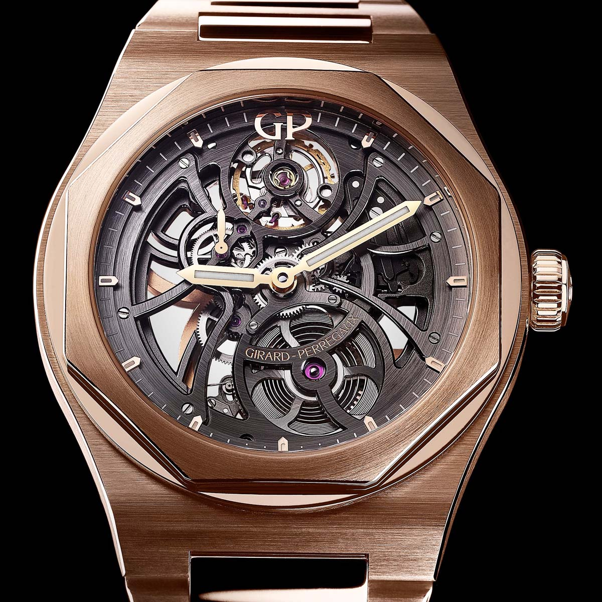 The Watch Quote: Photo - Girard-Perregaux Laureato Skeleton