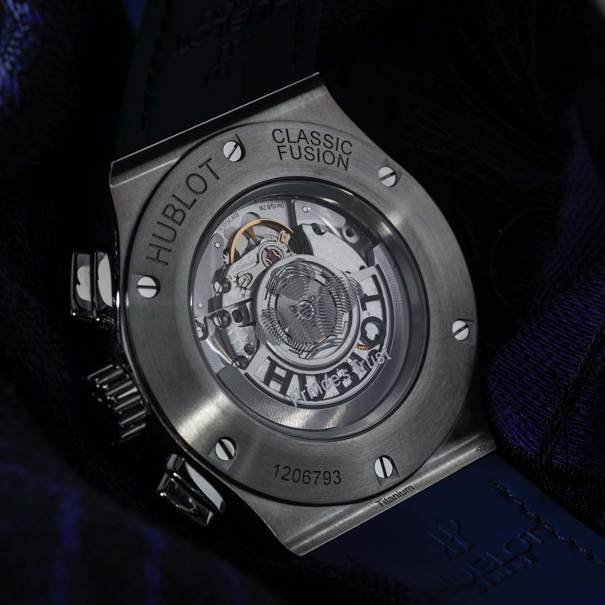 "The Watch Quote: Photo - Hublot  Classic Fusion Chronograph ""Prince's Trust�"