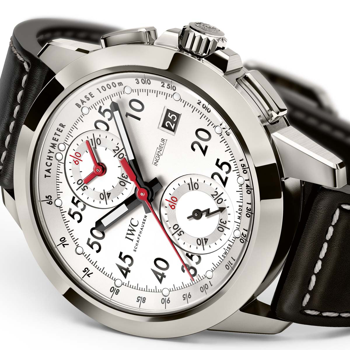 "The Watch Quote: Photo - IWC Ingenieur Chronograph Sport Edition ""50th Anniversary of Mercedes-AMG�"