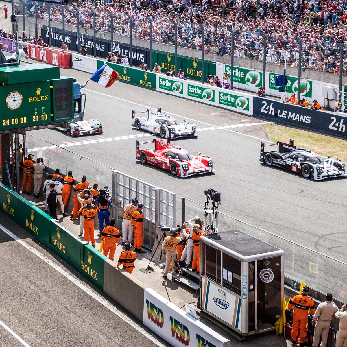 The Watch Quote: Photo - Rolex, Official Watch of 24 Hours of Le Mans