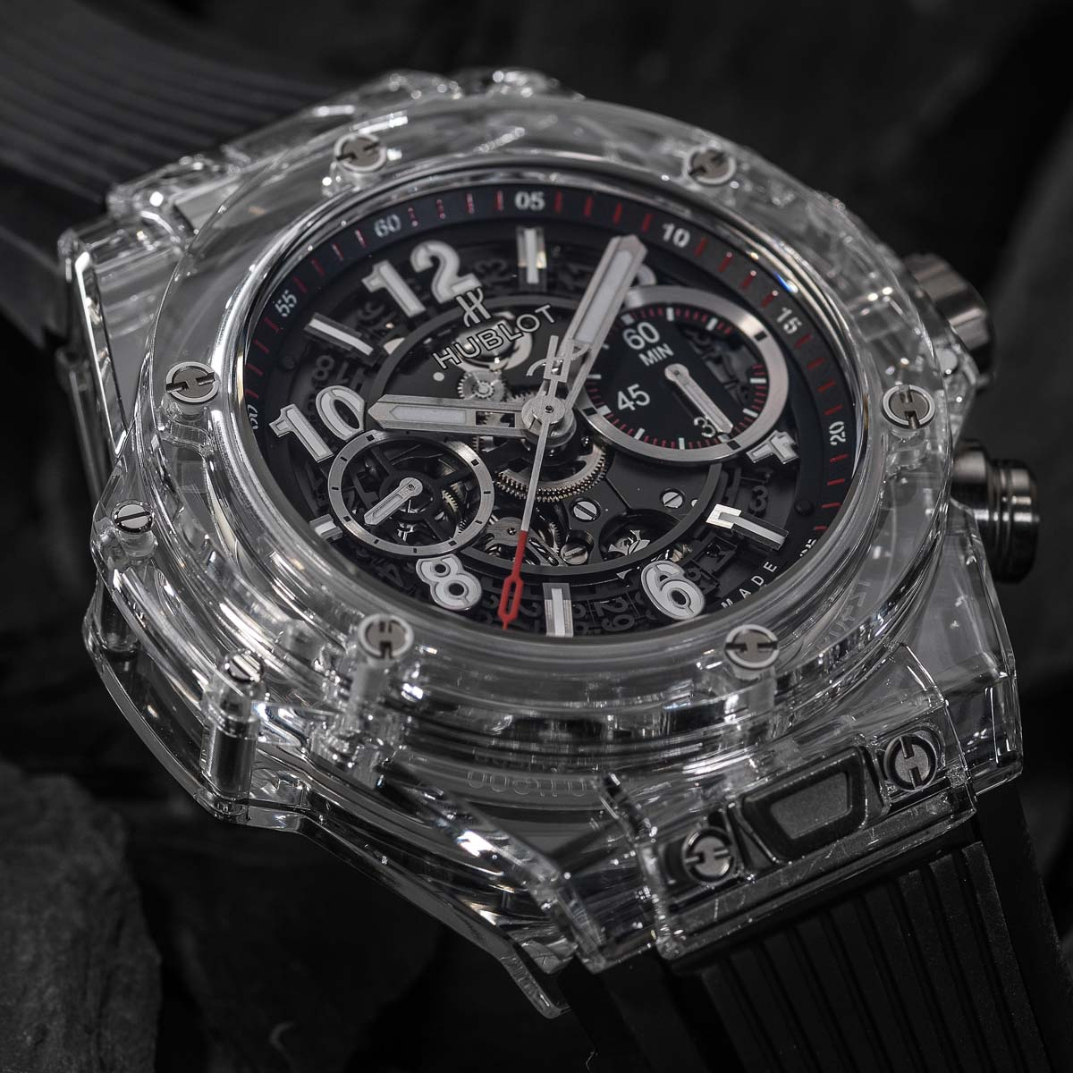 La Cote des Montres : Photo - Hublot Big Bang Unico Magic Sapphire