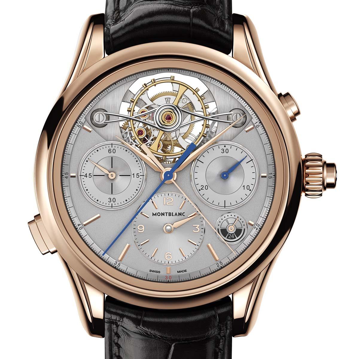 La Cote des Montres : Photo - Montblanc Heritage Chronométrie ExoTourbillon Rattrapante Limited Edition 8