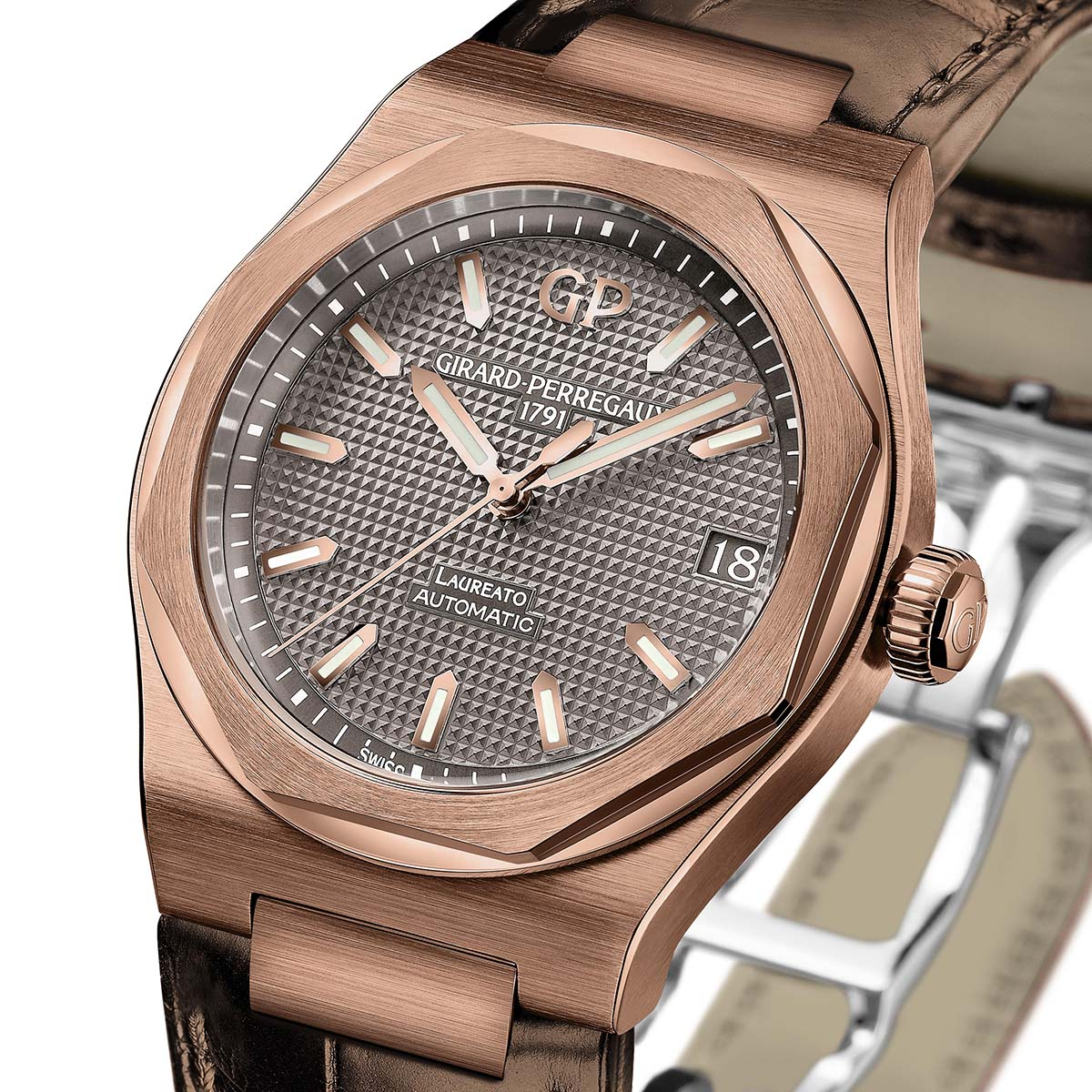 The Watch Quote: Photo - Girard-Perregaux Laureato Only Watch 2017 Special Edition