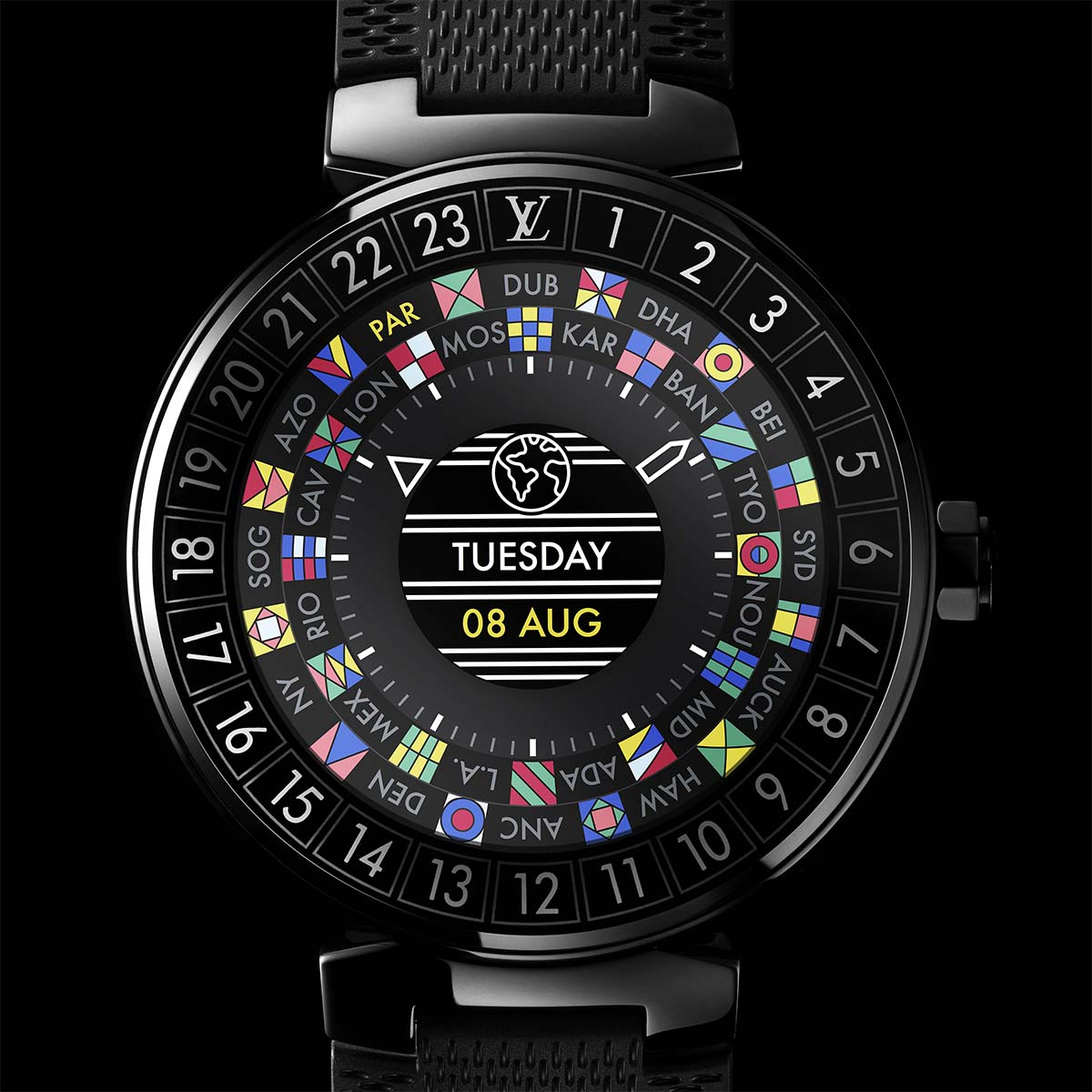 The Watch Quote: Photo - Louis Vuitton Tambour Horizon Connected Watch