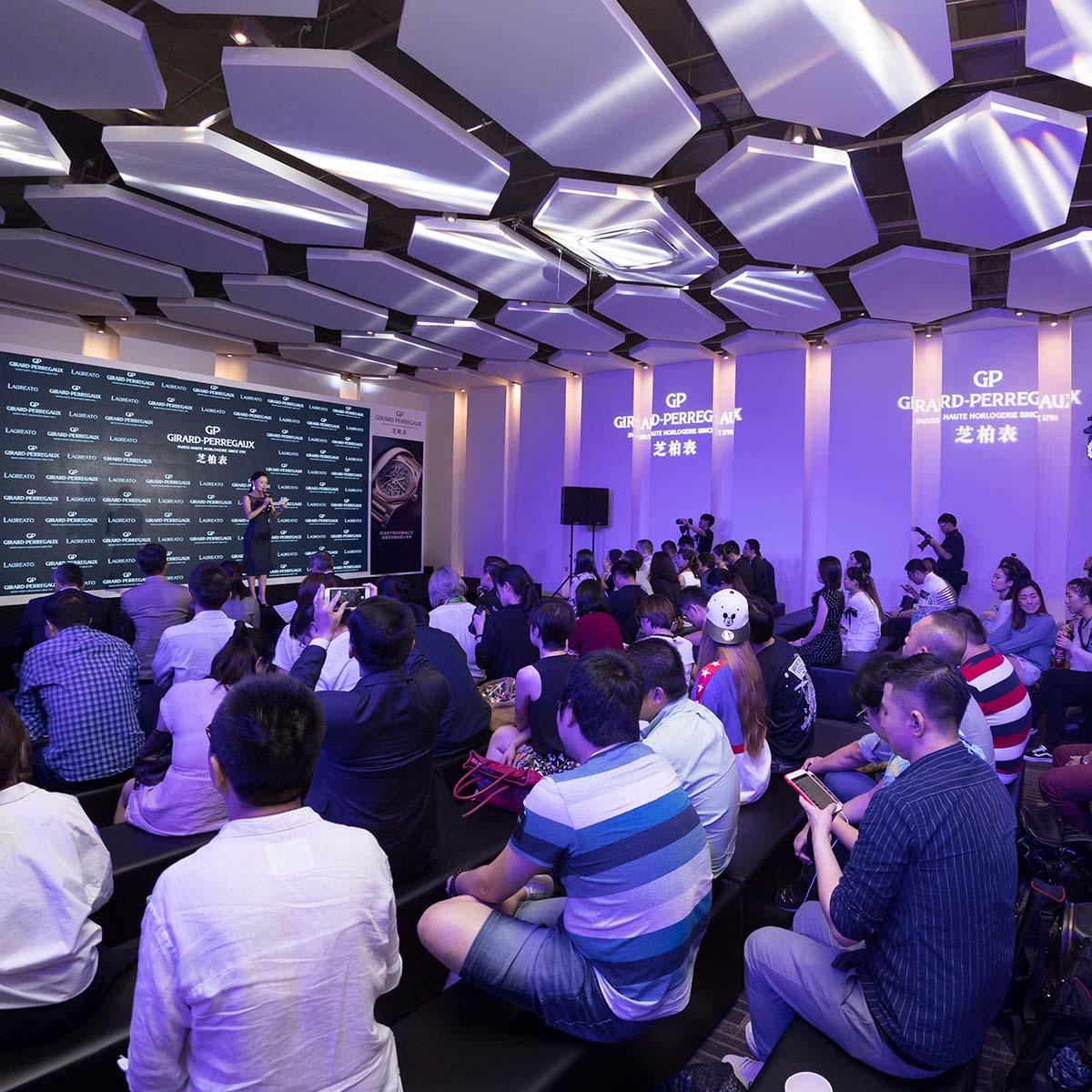 La Cote des Montres : Photo - Girard-Perregaux lance la Laureato à Shanghai
