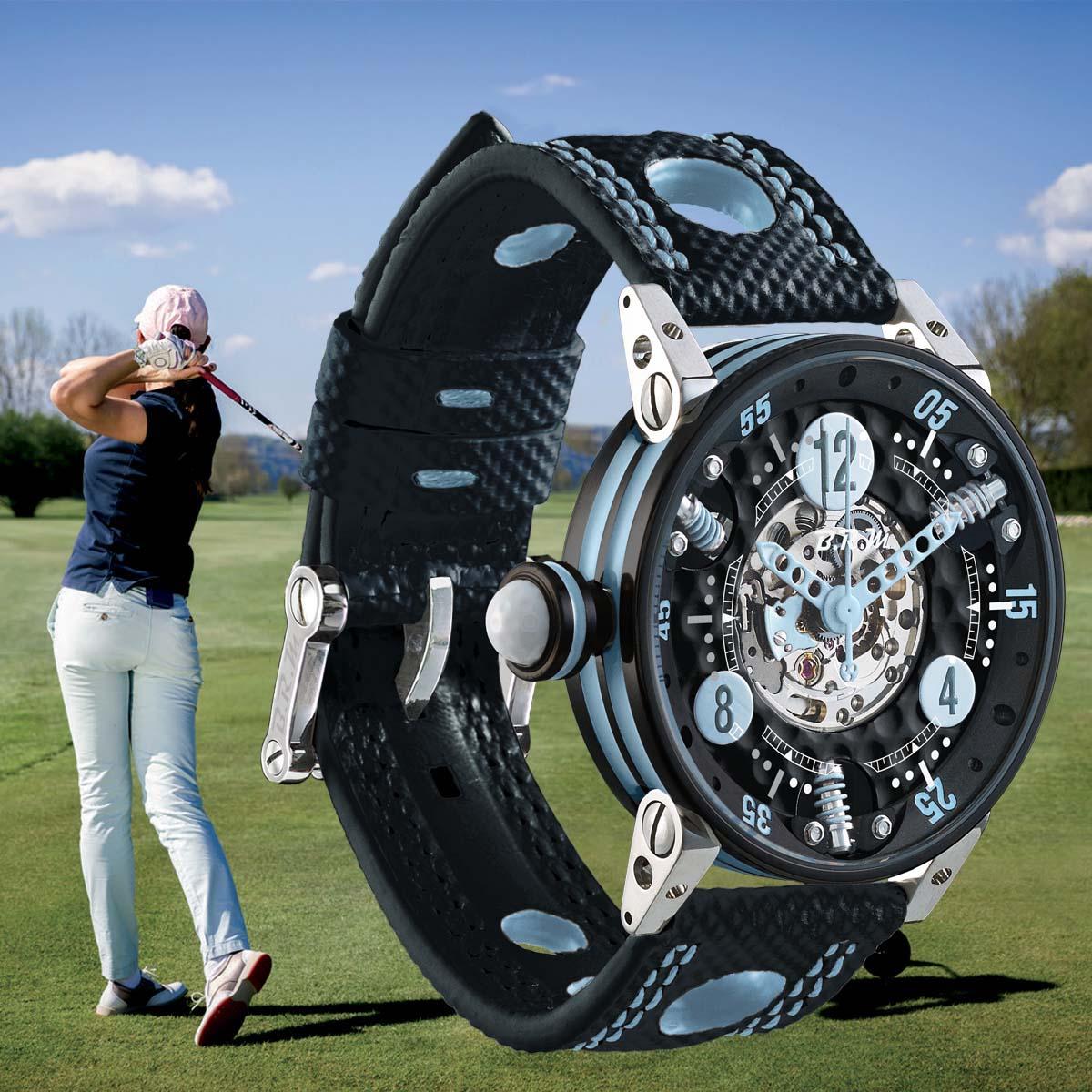 La Cote des Montres : Photo - BRM GF7 Collection Golf