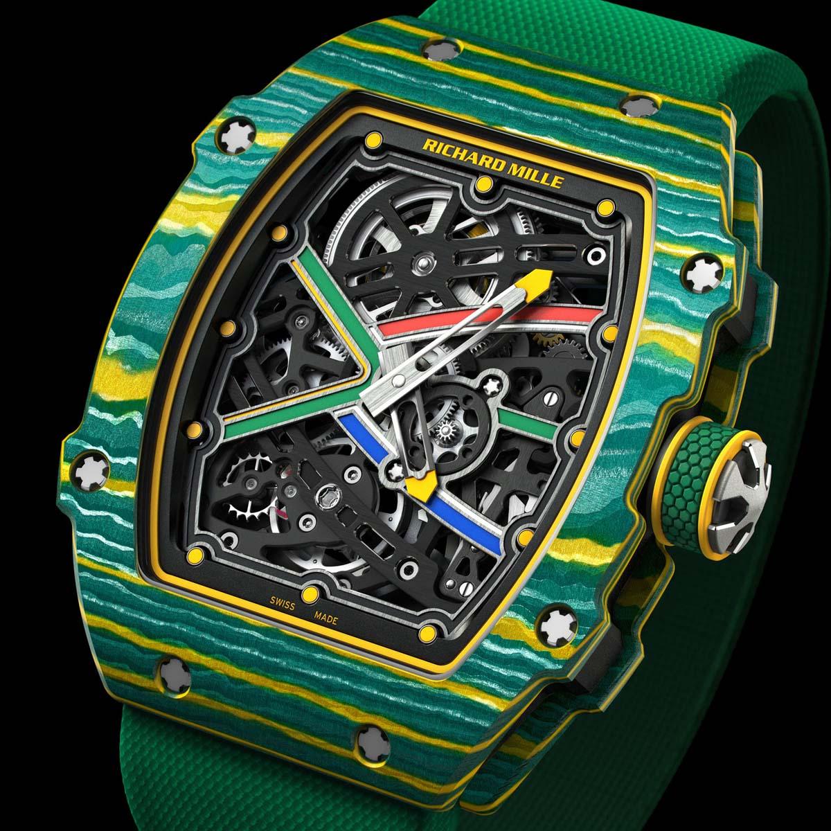 The Watch Quote: Photo - Richard Mille RM 67-02 Extraflat Automatic Wayde Van Niekerk - Sprint