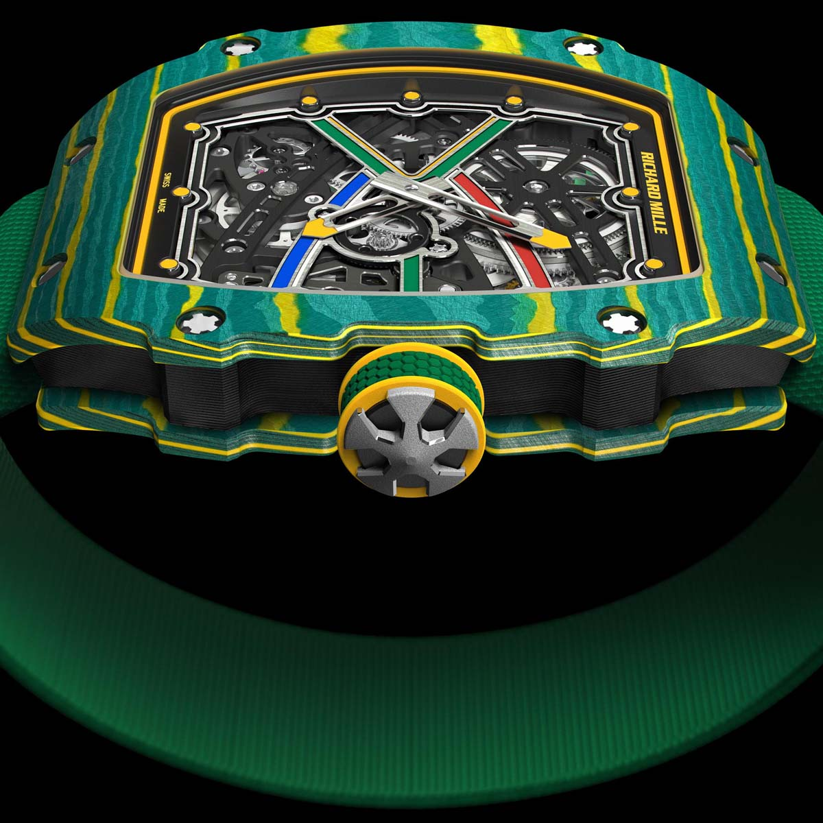 The Watch Quote: Photo - Richard Mille RM 67-02 Extraflat Automatic Wayde Van Niekerk - Sprint