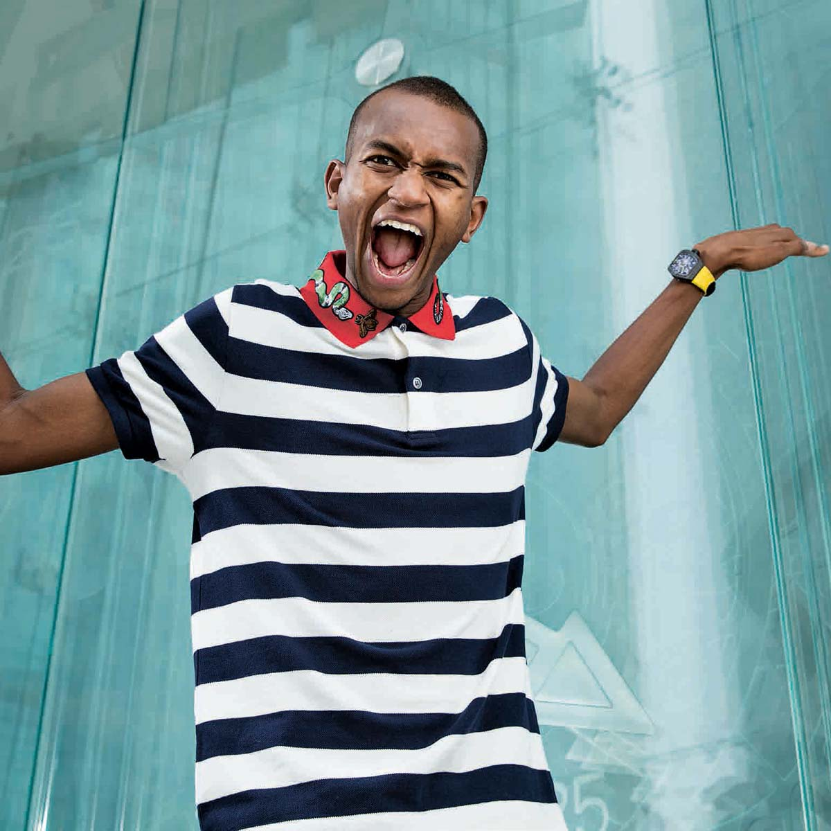 The Watch Quote: Photo - Richard Mille RM 67-02 Automatique Extra-plat Mutaz Essa Barshim - High Jump